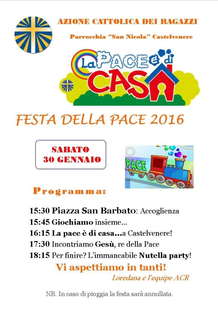 Festa della Pace 2016