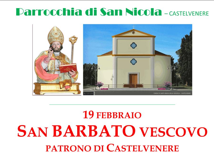 Solennità di San Barbato, 19 febbraio 2021